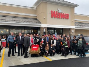 Wawa Grand Opening with group #1, 12.4.19