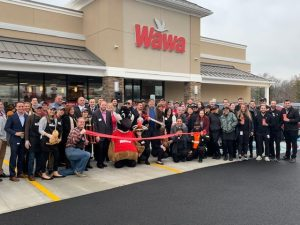 Wawa Grand Opening with group #4, 12.4.19