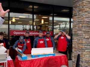 Wawa Grand Opening with Police photo #1, 12.4.19