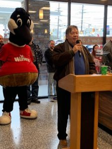 Wawa, Maple Shade, NJ, 12.4.19 Store Opening, Mayor Kauffman #2