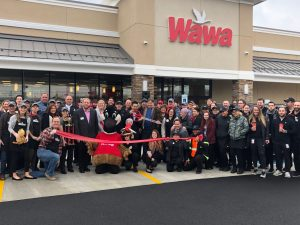 Wawa, Maple Shade, NJ, 12.4.19 Opening crowd photo